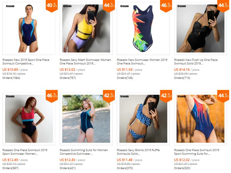 swimwear aliexpress riseado